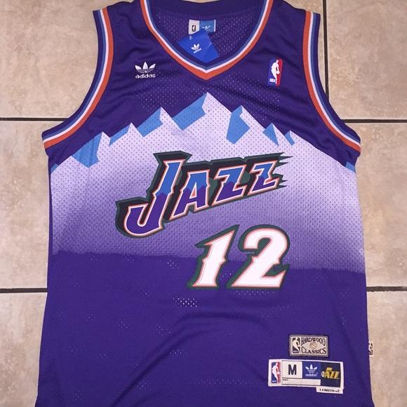 cheap for discount 73c7e 5bd1f John Stockton Retro Throwback Jersey 1997 NWT